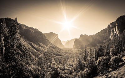 Sun over the Valley
