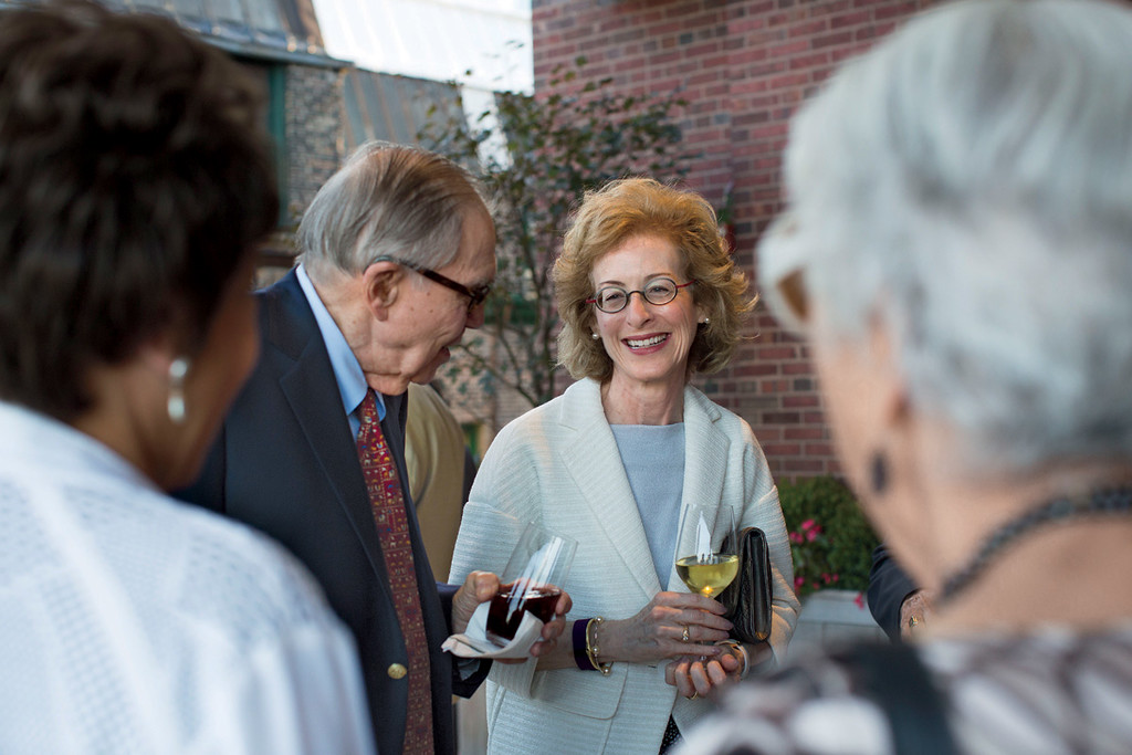 Inauguration Reception for President Elissa Tenny<br /> September 17, The Chicago Club