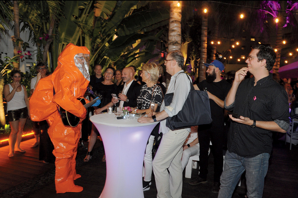 SAIC Miami Alumni Reception during Art Basel Miami Beach 2016<br /> December 2, Marseilles Hotel