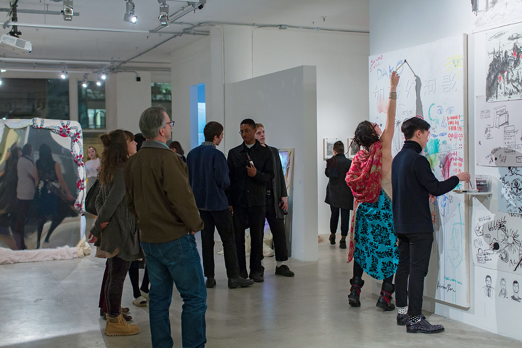 <i>BFA Show</i> Opening Reception<br> March 11, Sullivan Galleries