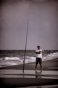Seashore Fisherman