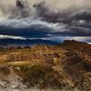Stormy Zabriskie Point, Death Valley, CA