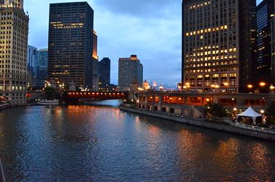 Chicago Skyline (blue#1)