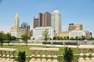 Columbus Downtown at Mid-Day