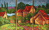 OUR HEAVEN FOR AWHILE 30X20 (TRIPTYCH)