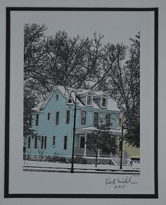 Old Blue Jacksonville House ArtExposure