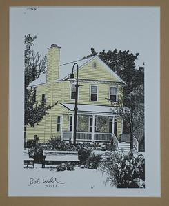 Old Yellow Jacksonville House ArtExposure