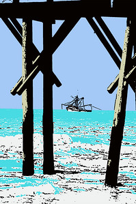 Shrimp Boat Pier