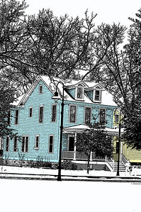 Old Blue Jacksonville House