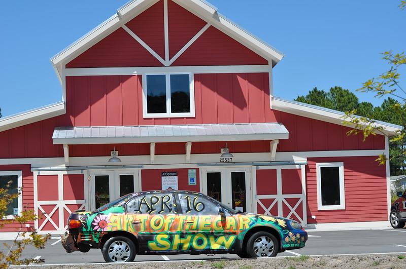 ART OF THE CAR SHOW AT ART EXPOSURE