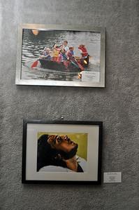 """Cardboard Boat Race"" by Al Potts &  ""Realization"" by Sara M. Gant"