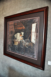 """The Blacksmith at Tyron"" by Betsy Meeder"