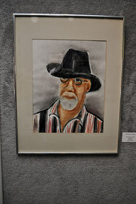 """Portrait of an Artist"" by Gladys Vanek"