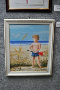 """David - Age 6 on Emerald Isle"" by Ann Weaver"