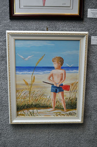 """David - Age 6 on Emerald Isle"" by Ann Weaver"