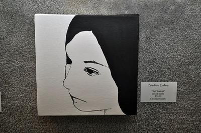 """Self Portrait"" by Christine Sundly"