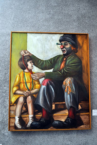 """Terry & Witney the Hobo"" by Connie Burke"