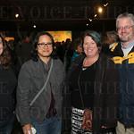 Artist Melissa Gaddie, Christine Romero, Lynn and Marty Quire.
