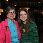 Angela Jones and artist Maria Jones.