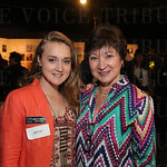 Artist and event chair Meredith Cunningham and Vicki Cunningham.