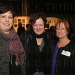 Melisa Gano, and artists Julie Tallent and Barbara Hanger.