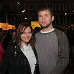 Ashley Murphy and Zach Cole.