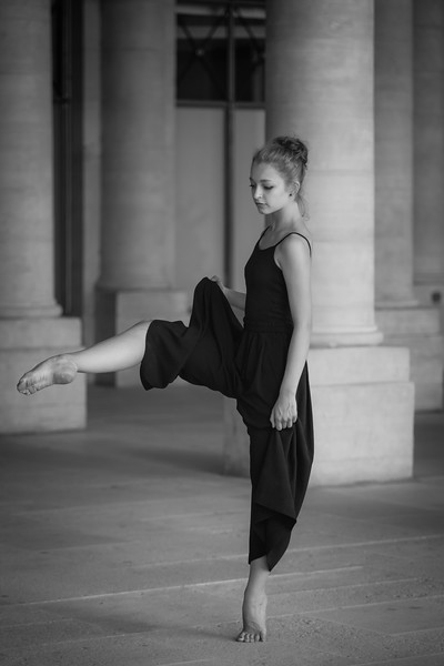 Céleste, danseuse contemporaine