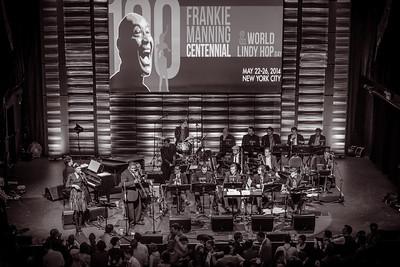 Frankie 100 - Frankie Manning Centenial - in New York City.