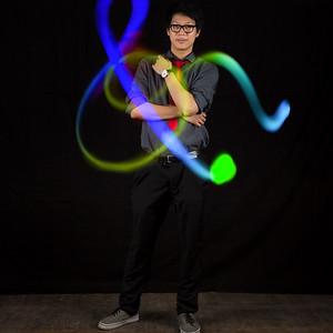 Photobooth light painting
