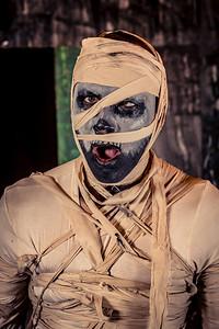 Photobooth Nightmare (décor par l'équipe du Desert Stomp)