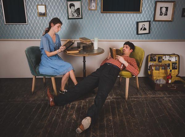 Photobooth Vintage (décor par l'équipe du LindyLicious)