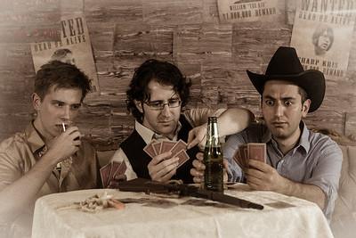 Photobooth Wild Wild West (décor par l'équipe du Desert Stomp)