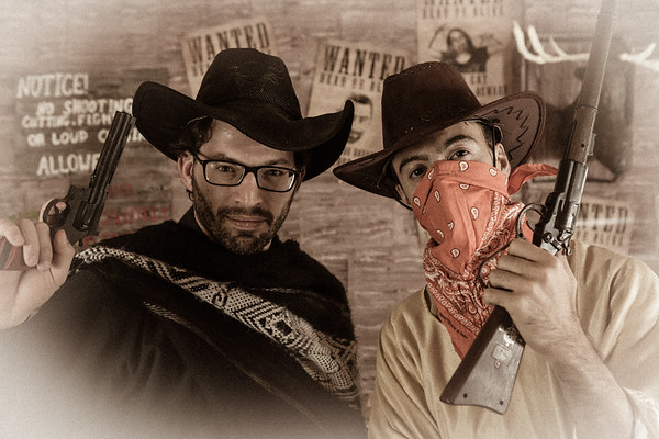 Photobooth Wild Wild West (décor par l'équipe du Desert Stomp)