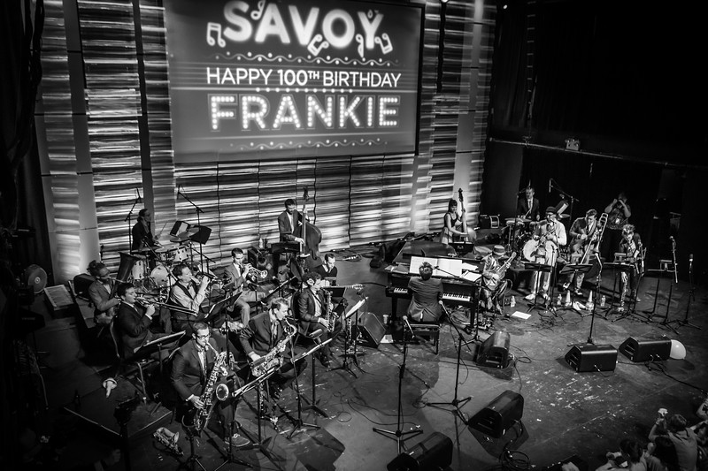 Gordon Webster band at Frankie 100 (Frankie Manning Centenial), New York City.