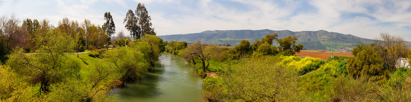 River on Golan Heights