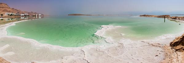 Dead Sea panoramic Seascape