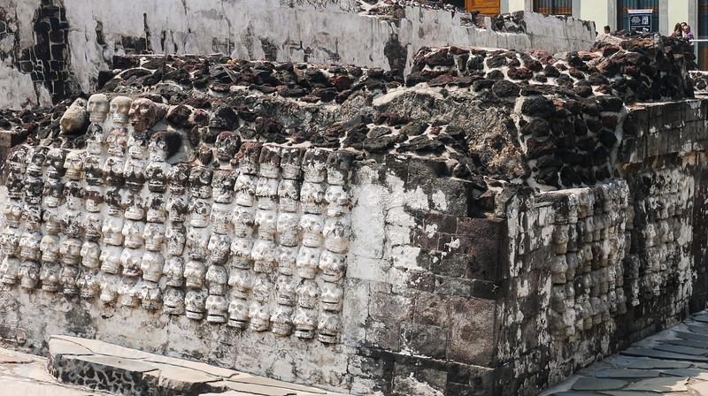 240 Stone skulls