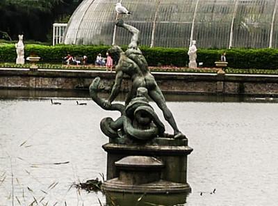 Hercules fighting Achelous