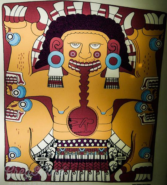 Aztec Priest.