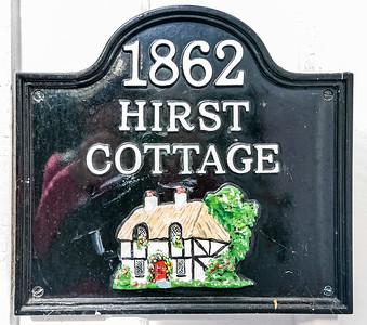 Sign for Cottage
