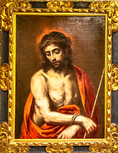 Christ with a Reed