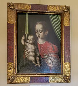 Virgin Mary of the Yarnwinder