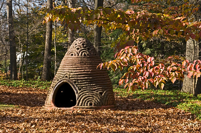 Phoenix Cairn - Clay Sculpture