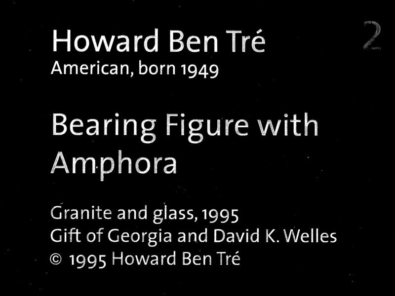 Bearing Figure with Amphora by Howard Ben Tré