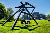 di Suvero - Blubber<br /> <br /> Toledo Museum of Art<br /> Toledo, Ohio<br /> Taken June 4, 2018