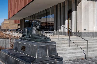 Puma sculpture