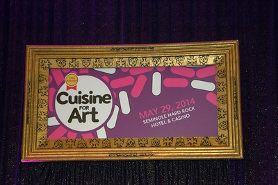 The Art and Culture Center of Hollywood 17th Annual Cuisine for Art honoring WLRN radio host Ed Bell