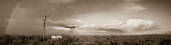 Karoo Storm Art Print