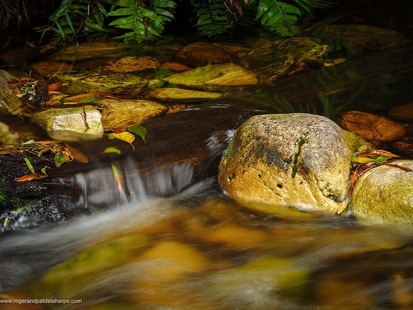 Jubilee Creek Rocks Print