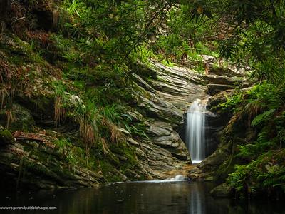 Garden Route Waterfall Print